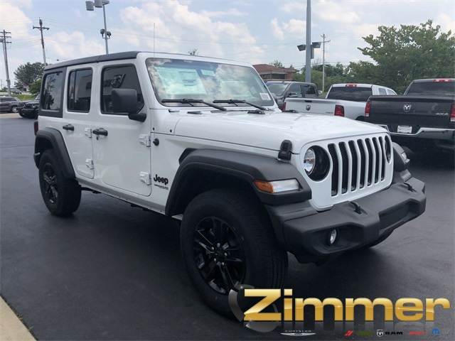 Jeep Wrangler Unlimited Sport >> New 2019 Jeep Wrangler Unlimited Sport Sport Utility In Florence